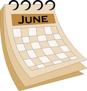 Приметы июня